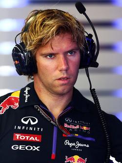 Antti Kontsas, Personal Trainer von Sebastian Vettel, Red Bull Racing