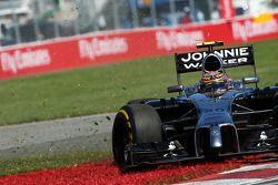Dreher: Kevin Magnussen, McLaren MP4-29