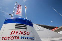 Toyota Racing paddock área logo