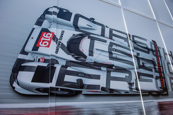 L'area Paddock del Team Porsche