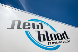 Newblood By Morand Racing paddock area