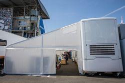 RAM Racing paddock