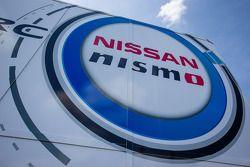 Nissan Motorsports paddock área logo