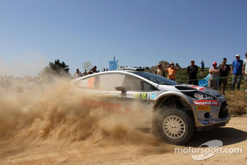 Henning Solberg ve Ilka Minor, Ford Fiesta WRC