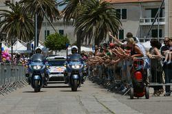 Winnaars Sébastien Ogier en Julien Ingrassia, Volkswagen Polo WRC, Volkswagen Motorsport