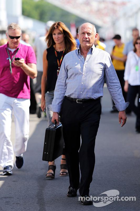 Ron Dennis, McLaren comandante executivo