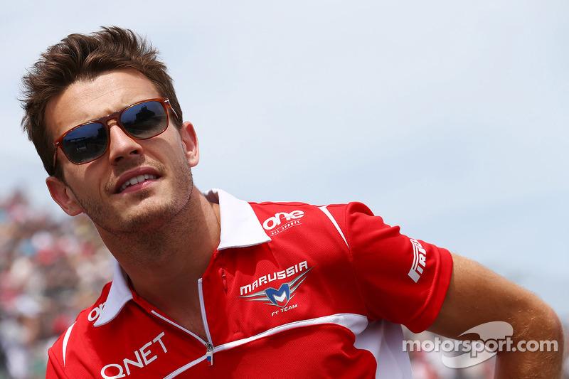 Jules Bianchi, Marussia F1 Team alla parata dei piloti