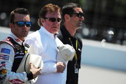 Austin Dillon, Richard Childress and Max Papis