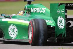 Kamui Kobayashi, Caterham F1 Team  08