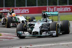 Nico Rosberg, Mercedes AMG F1 Team 08