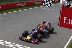 Sieg für Daniel Ricciardo, Red Bull Racing RB10