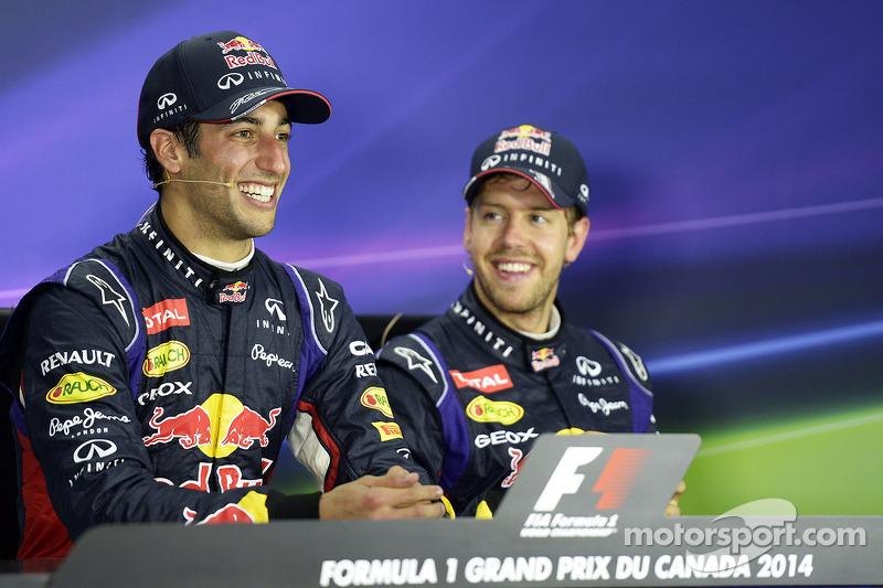 Однако все внезапно изменилось в 2014-м: Формула 1 перешла на новый регламент, «Красные быки» утратили чемпионскую форму, а самого Себа явно переиграл новый молодой напарник Даниэль Риккардо