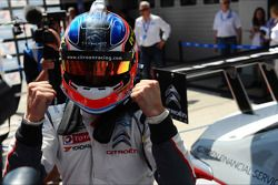 Le vainqueur Jose Maria Lopez, Citroen C-Elysee WTCC, Citroen Total WTCC