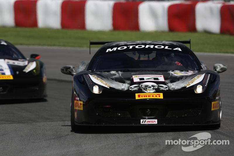 #14 Ferrari of San Diego 法拉利 458: 布伦特·劳伦斯