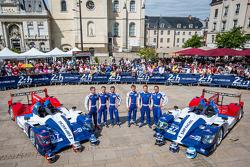 #37 SMP Racing Oreca 03 - Nissan: Kirill Ladygin, Nicolas Minassian, Maurizio Mediani, #27 SMP Racing Oreca 03 - Nissan: Sergey Zlobin, Mika Salo, Anton Ladygin