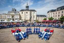 #37 SMP Racing Oreca 03 - Nissan: Kirill Ladygin, Nicolas Minassian, Maurizio Mediani, #27 SMP Racin