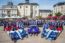 #37 SMP Racing Oreca 03 - Nissan: Kirill Ladygin, Nicolas Minassian, Maurizio Mediani, #72 SMP Racin
