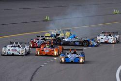 Sorun yaşayan; #09 RSR Racing ORECA FLM09: Duncan Ende, Bruno Junqueira