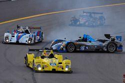 遇到问题,#09 RSR Racing ORECA FLM09: Duncan Ende, Bruno Junqueira