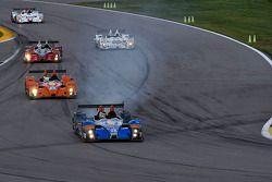 #08 RSR Racing ORECA FLM09: Chris Cumming, Alex Tagliani