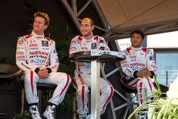 Lucas Ordonez, Wolfgang Reip, Satoshi Motoyama