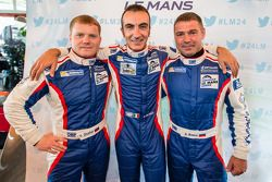 Viktor Shaitar, Andrea Bertolini et Alexey Basov