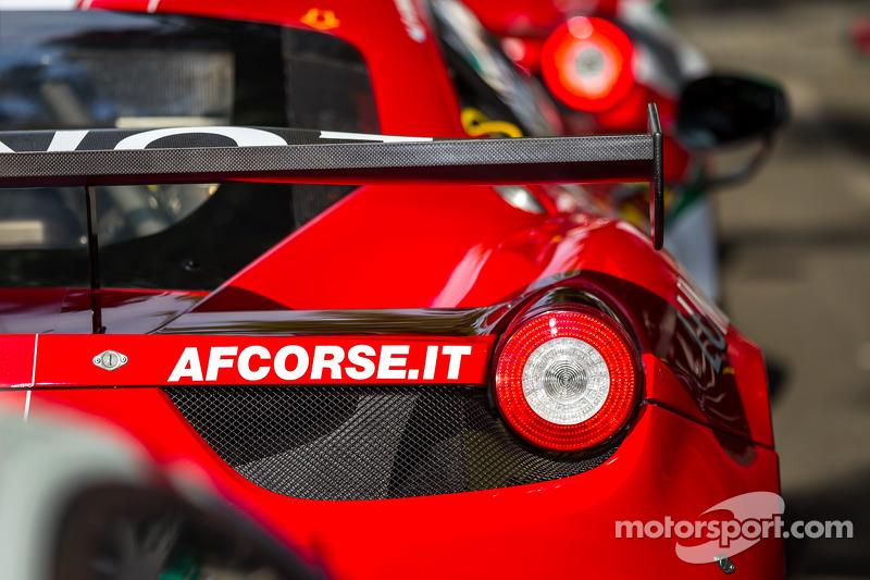 #61 AF Corse 法拉利 458 Italia 细节