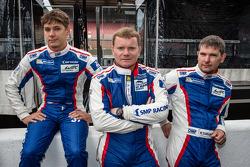 Anton Ladygin, Viktor Shaitar e Kirill Ladygin