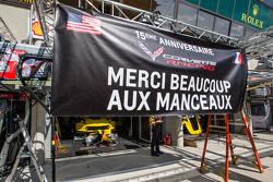 Mensagem de agradecimento da Corvette Racing aos fãs em Le Mans