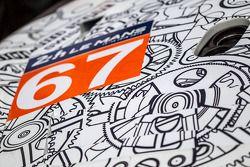 #67 IMSA Performance Matmut Porsche 911 GT3 RSR (997) : Détail