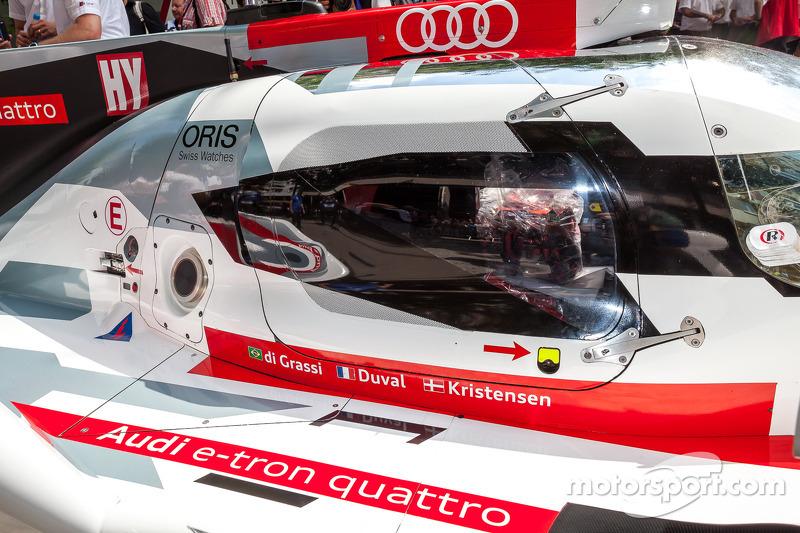 detalhe do #1 Audi Sport Team Joest Audi R18 E-Tron Quattro