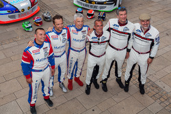 Erik Marris, Jean-Marc Merlin, Eric Helary, Raymond Narac, Nicolas Armindo, David Hallyday