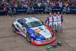 #76 IMSA Performance Matmut Porsche 911 GT3 RSR (997): Raymond Narac, Nicolas Armindo, David Hallyday