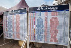 Le peloton des 82e 24 Heures du Mans