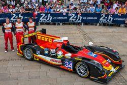 #34 Race Performance Oreca 03 - Judd: Michel Frey, Franck Mailleux, Jon Lancaster
