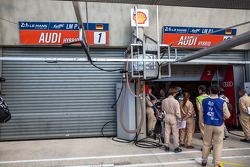 #1 Audi garage closed following Loic Duval's crash