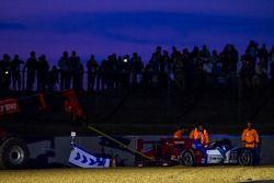 #37 SMP Racing Oreca 03 - Nissan: Kirill Ladygin, Nicolas Minassian, Maurizio Mediani : Crash lors d