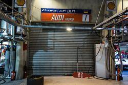 #1 Audi Sport Team Joest : Stand fermé