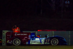 #37 SMP Racing Oreca 03 - Nissan: Kirill Ladygin, Nicolas Minassian, Maurizio Mediani pulled out of the gravel trap