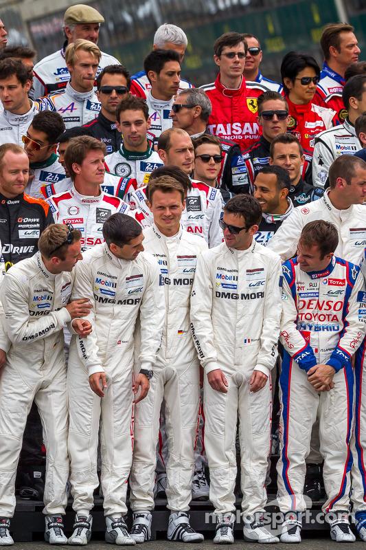 2014 24 Saat Le Mans pilotları