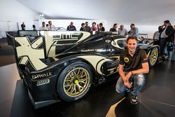 Lotus T129 LMP1 presentation: Christijan Albers with the new Lotus T129 LMP1