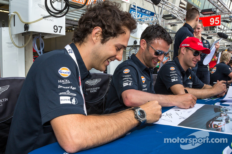 Darren Turner, Stefan Mücke, Bruno Senna
