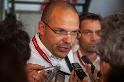 Chris Reinke, head of Audi LMP