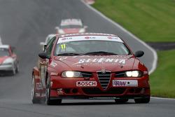 Steven Dymoke, Ex Fabrizio Giovanardi 2001 ETCC Alfa Romeo 156 S200