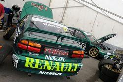 Deux Renault Laguna BTCC de 1999