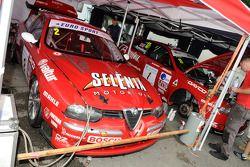 Deux Alfa Romeo 156