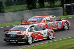 Ric Wood, Honda Accord and Dave Jarman, Nissan Primera