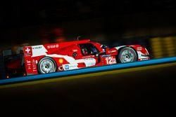 #12 Rebellion Racing Rebellion R-One - Toyota: Nicolas Prost, Nick Heidfeld, Mathias Beche