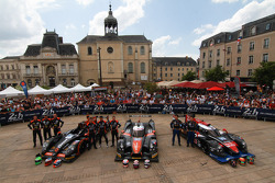 #26 G-Drive Racing Morgan - Nissan: Roman Rusinov, Olivier Pla, Julien Canal ; #35 OAK Racing Ligier - Nissan: Alex Brundle, Jann Mardenborough, Mark Shulzhitskiy ; #33 OAK Racing - Team Asia Ligier JS P2 - HPD: David Cheng, Ho-Pin Tung, Adderly Fong