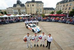 #75 Prospeed Competition Porsche 911 GT3 RSR (997): François Perrodo, Emmanuel Collard, Markus Paltt
